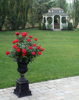 Gibson Mansion Bed & Breakfast Garden