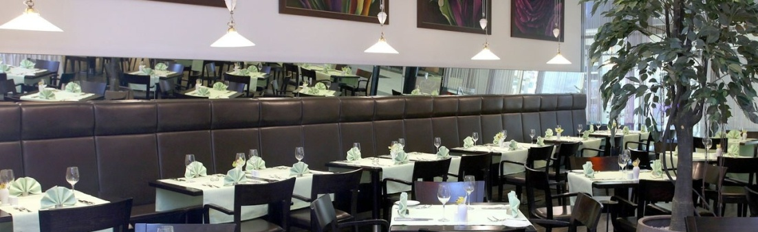 Interior of Radicchio restaurant in Hotel Arcotel Allegra, Zagreb