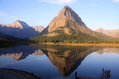 Grinnell Point and Swiftcurrent Lake, Glacier National Park