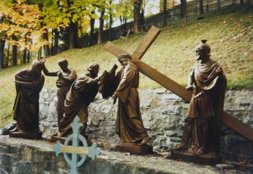 Way of the Cross, Basilica of Sainte-Anne-de-Beaupre
