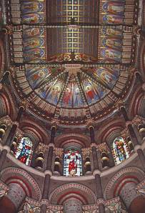 Ceiling, Saint Fin Barre's Cathedral, Cork, Ireland