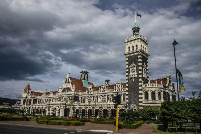 Dunedin Railway Station, Dunedin, New Zealand