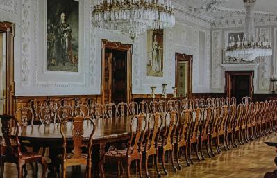 Dining Hall, Christiansborg Slot, Copenhagen, Denmark
