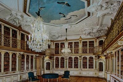 Queen's Library, Christiansborg Slot, Copenhagen, Denmark