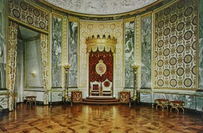 Throne Room, Christiansborg Slot, Copenhagen, Denmark