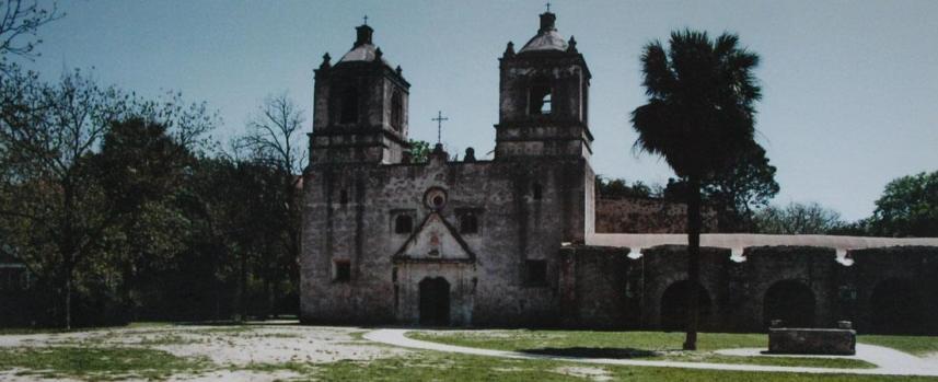 Mission Concepcíon, San Antonio, Texas