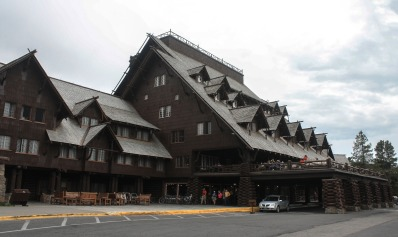 Old Faithful Inn, Yellowstone National Park, Wyoming