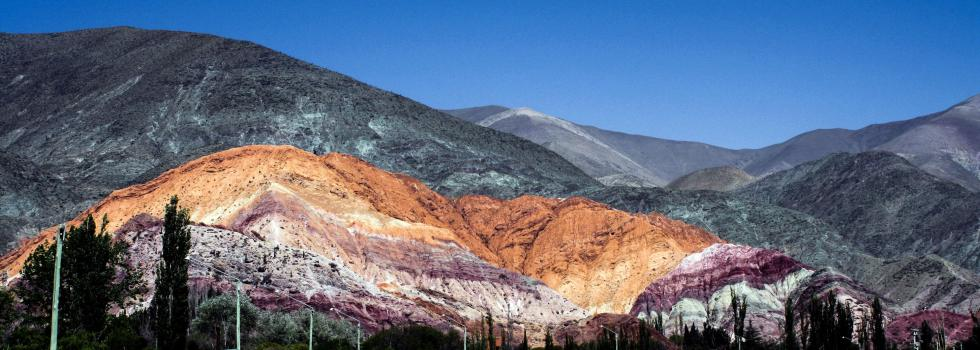 Hill of Seven Colors, Purmamarca, Argentina