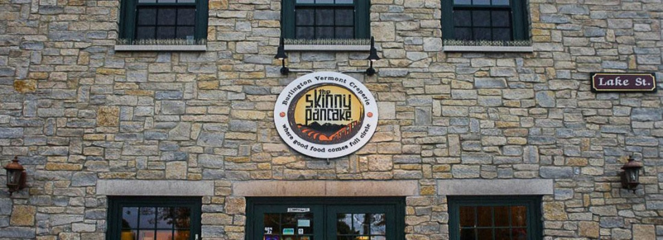 The Skinny Pancake, Burlington, Vermont