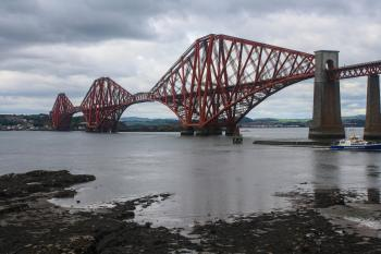 Forth Bridge, South Queensferry, Scotland