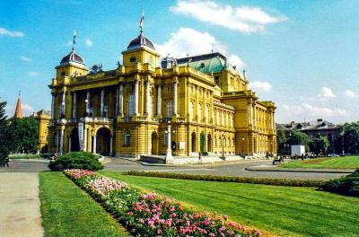 Croatian National Theatre, Zagreb, Croatia