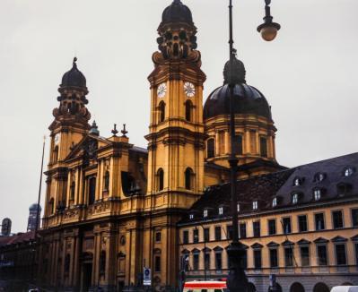 Theaterinerkirche, Munich, Germany