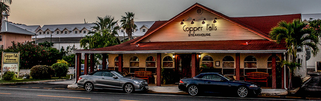 Copper Falls Steakhouse, Grand Cayman