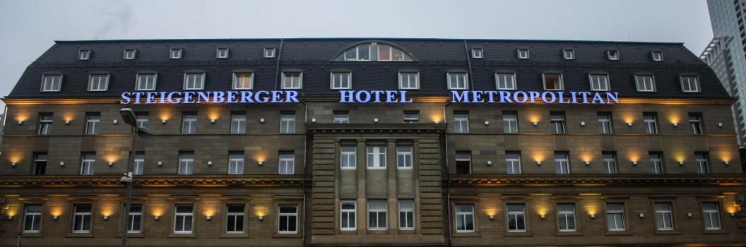 Steitenberger Metropolitan Hotel, Frankfurt, Germany