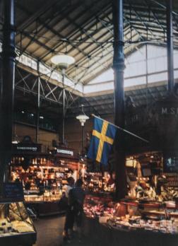 Ostermalms Saluhall, Stockholm, Sweden