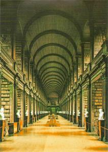 Long Hall, Trinity College, Dublin, Ireland