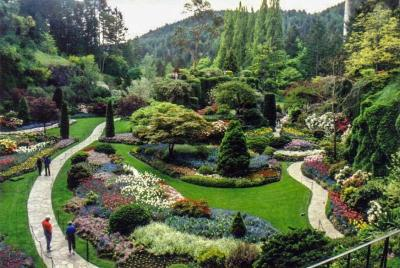 The Butchart Gardens, Brentwood Bay, British Columbia