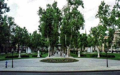 Strossmayerov Square, Zagreb, Croatia