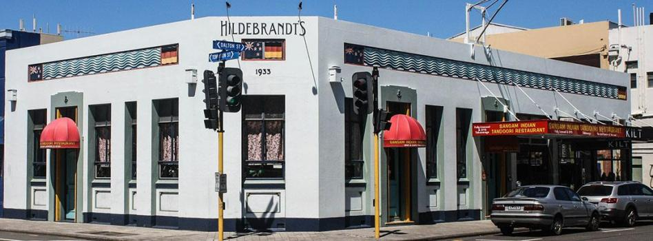 Hildebrandt's Building, Napier, New Zealand