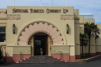 National Tobacco Company Building, Napier, New Zealand