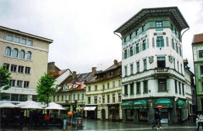 Hauptmann House, Ljubljana, Slovenia