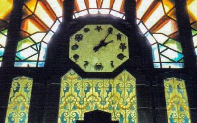 Marine Building Clock, Vancouver, British Columbia