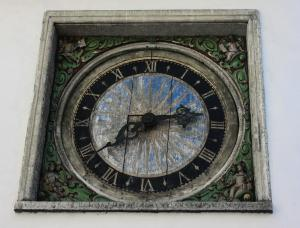 Holy Spirit Church clock, Tallinn, Estonia