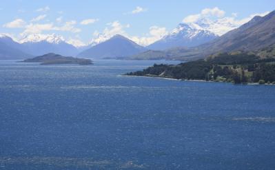 Glenorchy-Queenstown Road, New Zealand
