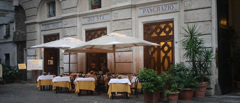 Ristorante da Pancrazio, Rome, Italy