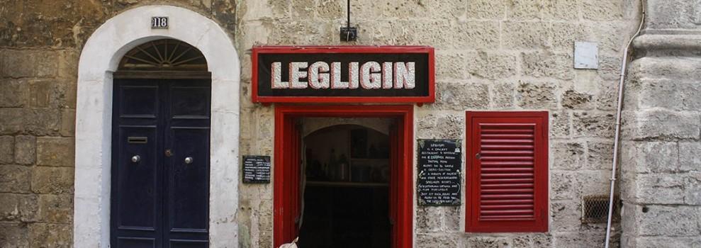 Legligin Wine Bar, Valletta, Malta