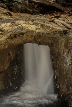 Thunderhead Underground Falls, Rapid City, South Dakota