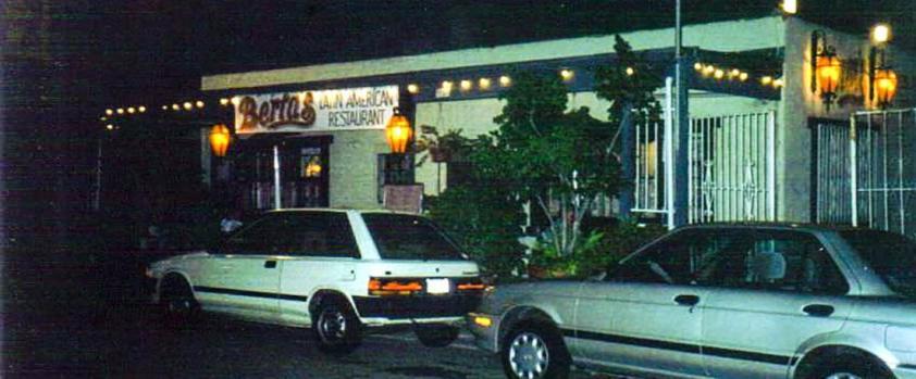 Berta's, San Diego, California