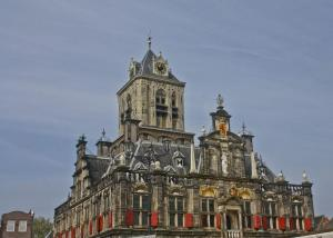 City Hall, Delft, Netherlands