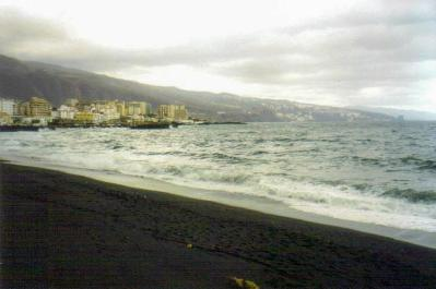 Beach, Candelaria, Tenerife, Canary Islands