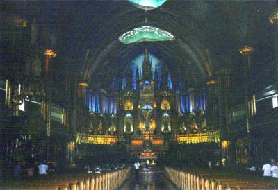 Notre Dame of Montreal Basilica, Montreal, Quebec