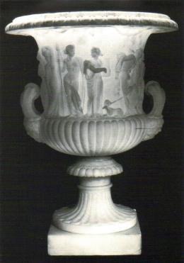 Alabaster urn, Volterra, Italy