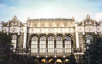 Vigado Concert Hall, Budapest, Hungary