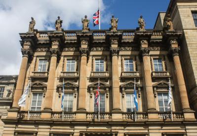 British Linen Bank Building, Edinburgh, Scotland