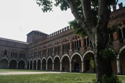 Visconti Castle, Pavia, Italy