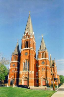 St. Josaphat's Roman Catholic Church, Detroit, Michigan
