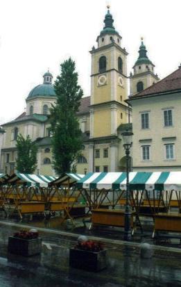 St. Nicholas Cathedral, Ljubljana, Slovenia