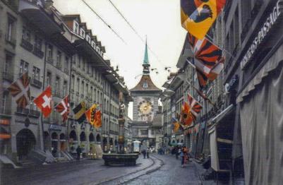 Old Town, Bern, Switzerland