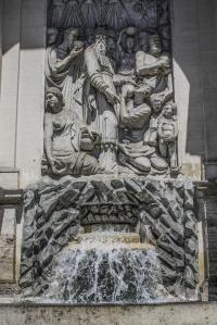 Fountain of Felice's Water, Rome, Italy