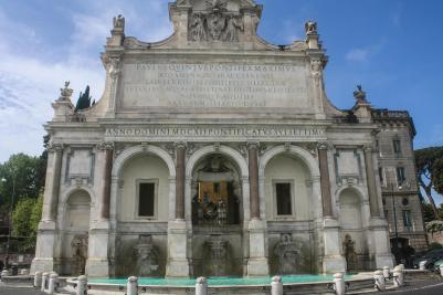 Fountain of Paul's Water, Rome, Italy