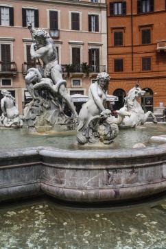 Neptune Fountain, Rome, Italy