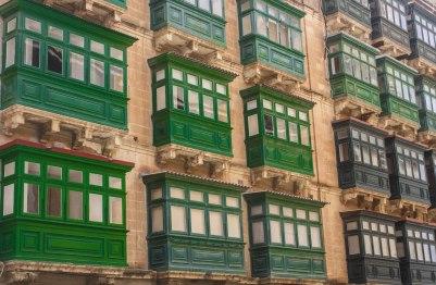 Balconies, Valletta, Malta