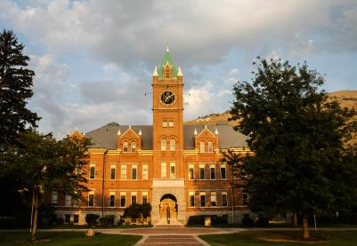 University of Montana, Missoula, Montana
