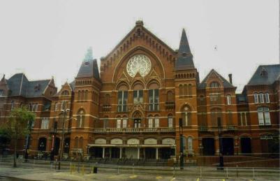 Cincinnati Music Hall, Cincinnati, Ohio
