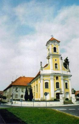 Church of St. Florian, Varazdin, Croatia