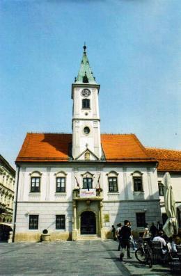 Town Hal, Varazdin, Croatia